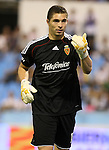 Zaragoza's Juan Pablo Carrizo during La Liga match. September 27 2009. (ALTERPHOTOS/Acero).