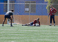Assistant Coach: Paul Grafer, Earl  Edwards, and Spencer Richey training before the 2009 CONCACAF Under-17 Championship From April 21-May 2 in Tijuana, Mexico
