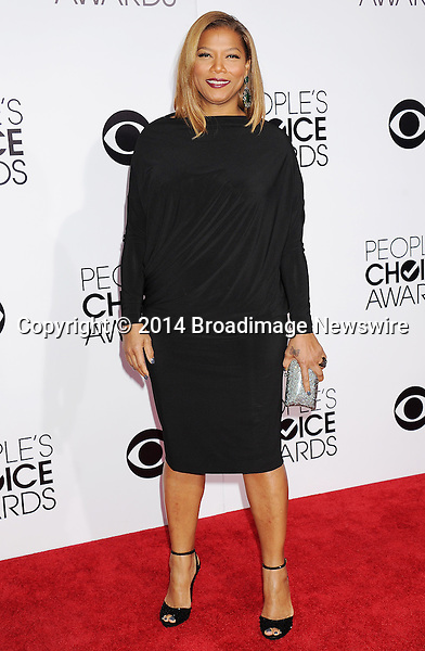 Pictured: Queen Latifah<br /> Mandatory Credit &copy; Gilbert Flores /Broadimage<br /> 2014 People's Choice Awards <br /> <br /> 1/8/14, Los Angeles, California, United States of America<br /> Reference: 010814_GFLA_BDG_209<br /> <br /> Broadimage Newswire<br /> Los Angeles 1+  (310) 301-1027<br /> New York      1+  (646) 827-9134<br /> sales@broadimage.com<br /> http://www.broadimage.com
