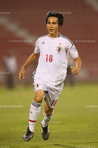 Ryoichi Maeda (JPN), <br /> JUNE 11, 2013 - Football / Soccer : <br /> FIFA World Cup Brazil 2014 Asian Qualifier <br /> Final Round Group B <br /> between Iraq 0-1 Japan <br /> at Al-Arabi Stadium, Doha, Qatar. <br /> (Photo by YUTAKA/AFLO SPORT)