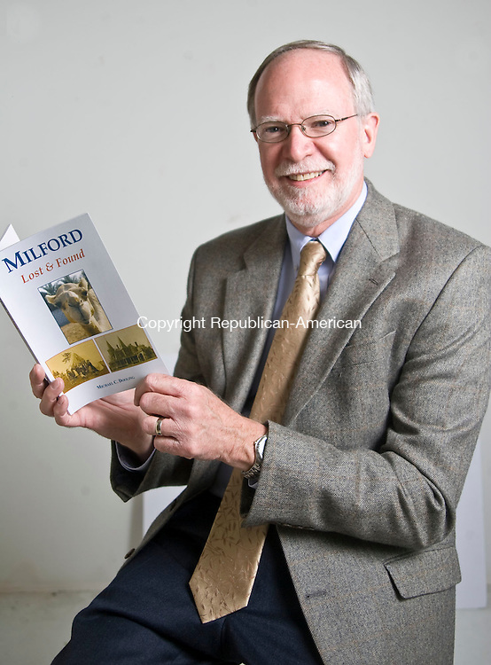 WATERBURY, CT - 20 OCTOBER 2009 -102009JT22-<br /> Michael C. Dooling, author of &quot;Milford Lost &amp; Found.&quot;<br /> Josalee Thrift Republican-American