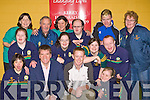 Kerry star Colm Cooper launches the Special Olympics Ireland Kerry fundraising campaign  in Spa Gaa club on Saturday front row l-r: Breda Healy, Matt English CEO Spiecial Olympics Ireland, Colm Cooper, Claire Spillane. Back row: Maire Murphy, Norma lyne, Johnny Doolan, Jean Allen, Timmy Dan O'Sullivan, Fiona O'Neill, Ross Gallagher, John Paul Doyle and Breda O'Sullivan