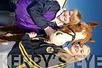 Enjoying the Kingdom Hunt club hunt in Killarney on Sunday were Alanna and Shannon O'Regan, Killorglin.