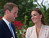 """CATHERINE, DUCHESS OF CAMBRIDGE AND PRINCE WILLIAM.visited the Botanical Gardens in Singapore..In their first engagement of the evening they viewed the Diana, Princess of Wales Orchid as well as named an Orchid """"Vanda William Catherine"""" after themselves_11/09/2012.Mandatory credit photo: ©Dias/DIASIMAGES/NEWSPIX INTERNATIONAL..(Failure to credit will incur a surcharge of 100% of reproduction fees)..                **ALL FEES PAYABLE TO: """"NEWSPIX INTERNATIONAL""""**..IMMEDIATE CONFIRMATION OF USAGE REQUIRED:.DiasImages, 31a Chinnery Hill, Bishop's Stortford, ENGLAND CM23 3PS.Tel:+441279 324672  ; Fax: +441279656877.Mobile:  07775681153.e-mail: info@newspixinternational.co.uk"""