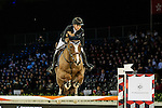 Jane Richards Philips of Switzerland riding on Zekina Z competes during the EEM Trophy, part of the Longines Masters of Hong Kong on 10 February 2017 at the Asia World Expo in Hong Kong, China. Photo by Marcio Rodrigo Machado / Power Sport Images