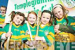 Sports girls: Templeglantine camogie girls Arlene Brosnan, Roisin Egan, Ellie Lyons and Shauna Curtin.