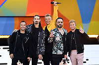 JUL 13 The Backstreet Boys Perform on ABC's Good Morning America