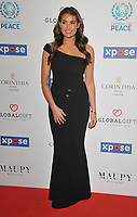 Jessica Wright at the Football For Peace Initiative Dinner by Global Gift Foundation, Corinthia Hotel, Whitehall Place, London, England, UK, on Monday 08th April 2019.<br /> CAP/CAN<br /> &copy;CAN/Capital Pictures