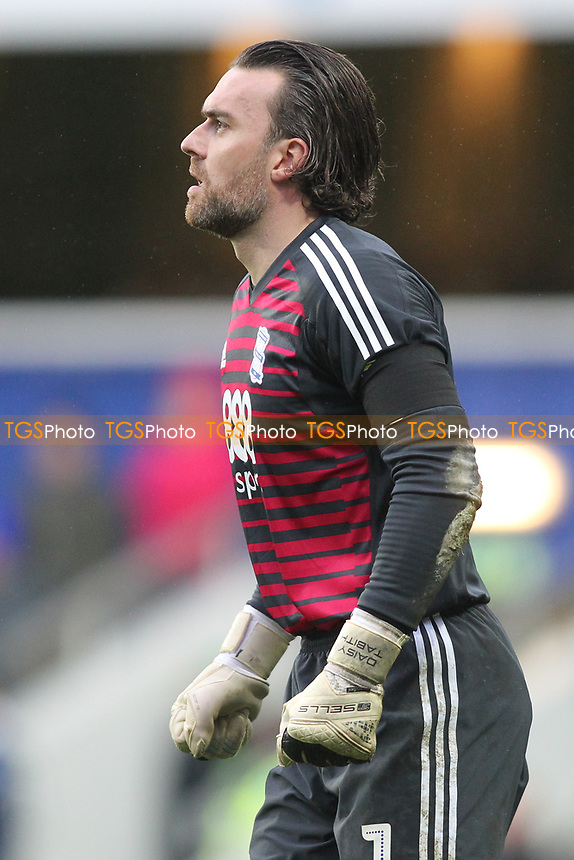 Lee Camp of Birmingham City during Queens Park Rangers vs Birmingham City, Sky Bet EFL Championship Football at Loftus Road Stadium on 9th February 2019