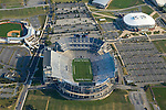 Aerial view of Beaver Stadium, University Park at Penn State