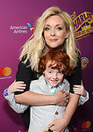 Jane Krakowski and Bennett Godley attend the Broadway Opening Performance of 'Charlie and the Chocolate Factory' at the Lunt-Fontanne Theatre on April 23, 2017 in New York City.