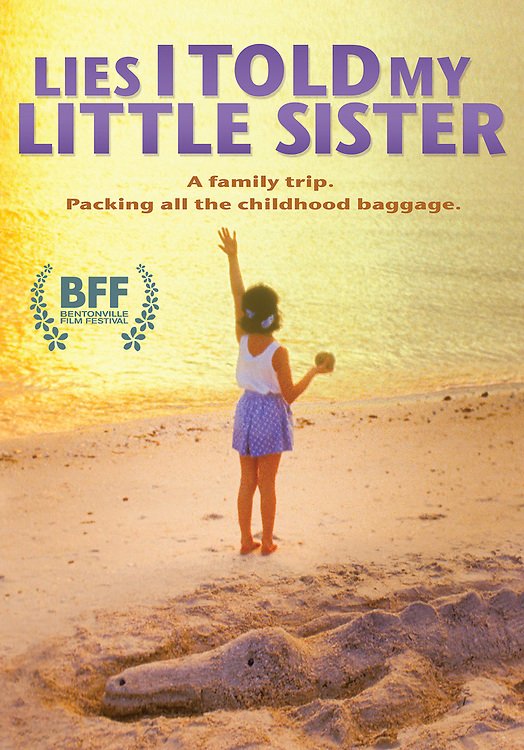DVD cover of Lies I Told My Little Sister feature film release date October 6, 20-15