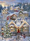 Dona Gelsinger, CHRISTMAS LANDSCAPES, WEIHNACHTEN WINTERLANDSCHAFTEN, NAVIDAD PAISAJES DE INVIERNO, paintings+++++,USGE1847,#xl#