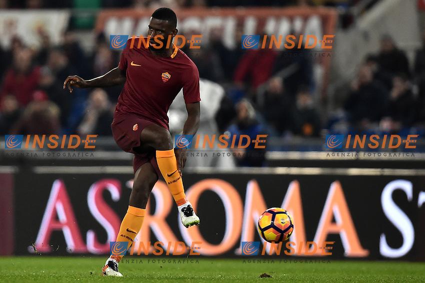 Antonio Rudiger Roma <br /> Roma 12-12-2016 Stadio Olimpico Football <br /> Campionato Serie A 2016/2017 <br /> AS Roma - Milan <br /> Foto Andrea Staccioli / Insidefoto