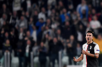 Paulo Dybala of Juventus celebrates after scoring the goal of 1-1 for his side<br /> Torino 22/10/2019 Juventus Stadium <br /> Football Champions League 2019//2020 <br /> Group Stage Group D <br /> Juventus - Lokomotiv Moscow  <br /> Photo Andrea Staccioli / Insidefoto