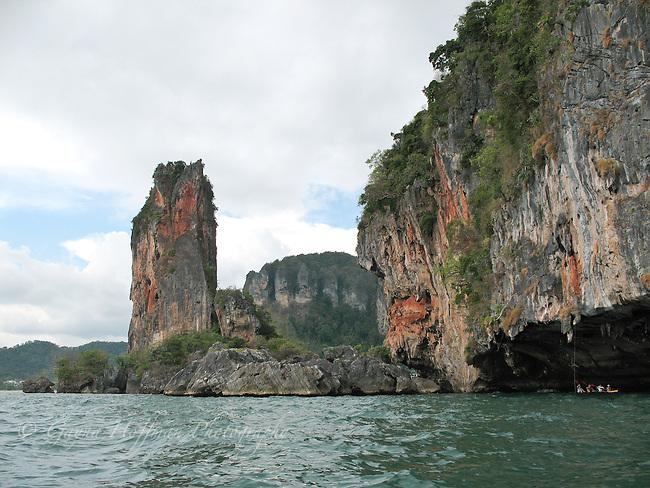 Island cliff rocks, Southern Thailand