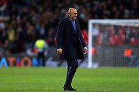 Internazionale head coach Luciano Spalletti after Tottenham Hotspur vs Inter Milan, UEFA Champions League Football at Wembley Stadium on 28th November 2018