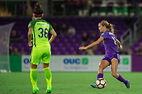 Orlando, FL - Thursday September 07, 2017: Dani Weatherholt during a regular season National Women's Soccer League (NWSL) match between the Orlando Pride and the Seattle Reign FC at Orlando City Stadium.