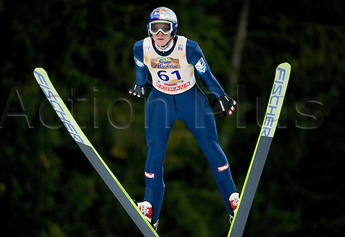 13.12.2013 Titisee-Neustadt Germany. Mens World Cup Ski-Jumping Training and Qualification. MORGENSTERN Thomas (AUT)