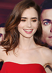 HOLLYWOOD, CA - JULY 27:  Actress Lily Collins arrives at the Premiere Of Amazon Studios' 'The Last Tycoon' at the Harmony Gold Preview House and Theater on July 27, 2017 in Hollywood, California.