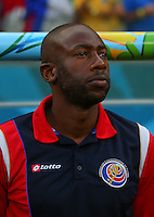 Costa Rica assistant manager Paulo Wanchope