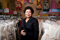 Senior Vice President of Brand Marketing for JC Penney Ruby Anik (cq) at a store in the Stonebriar Centre Mall in Frisco, Texas, Tuesday, May 10, 2011. Anik has recently developed a marketing campaign directed towards attracting Hispanic families...Photo by Matt Nager