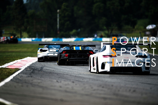 Race cars in action in action during the 2016-2017 Asian Le Mans Series Round 1 at Zhuhai Circuit on 30 October 2016, Zhuhai, China.  Photo by Marcio Machado / Power Sport Images