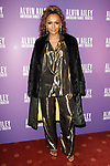 """Janet Mock arrives at the Alvin Ailey American Dance Theater """"Modern American Songbook"""" opening night gala benefit at the New York City Center on November 29, 2017."""