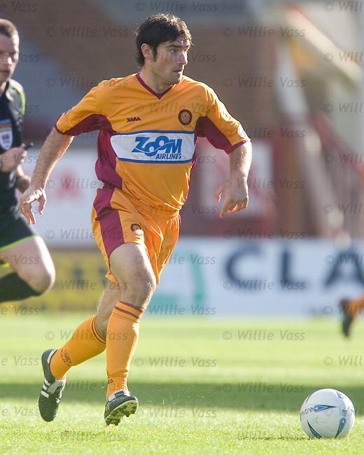 Jim Paterson, Motherwell.stock season 2004-2005.pic willie vass
