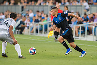 San Jose, CA - Tuesday June 11, 2019: Eric Calvillo #26 during the US Open Cup match between the San Jose Earthquakes and Sacramento Republic FC at Avaya Stadium.