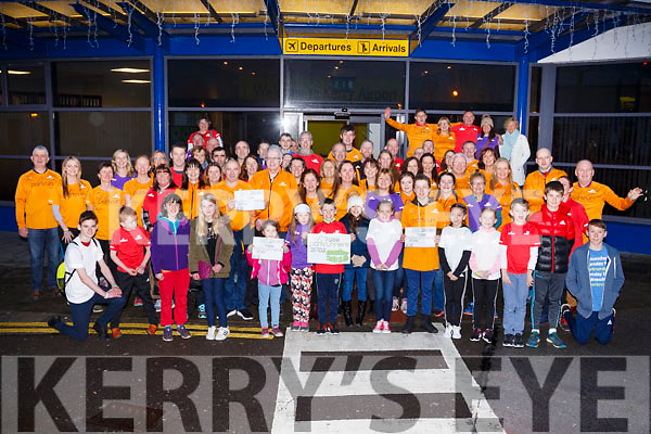 Bon Voyage to the Tralee Parkrun at Kerry Airport. As they head to London on Friday evening last.