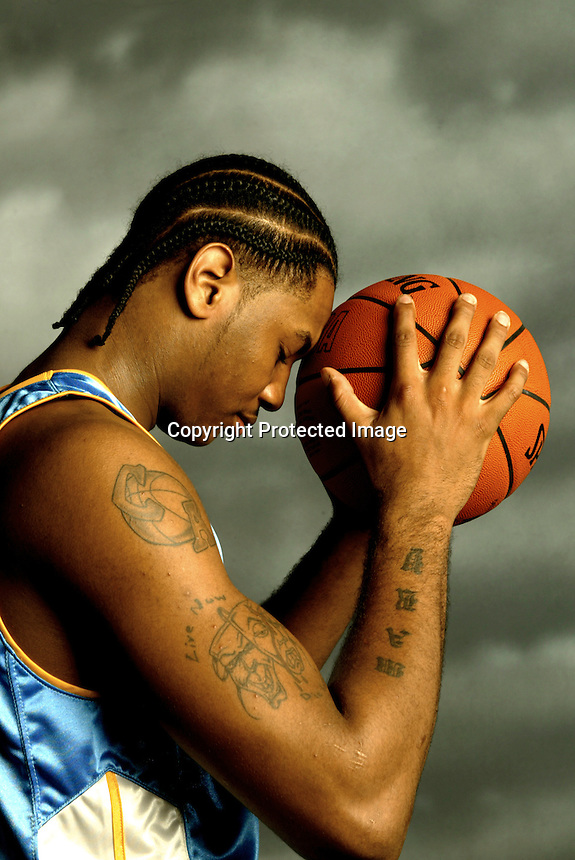 Carmelo Anthony, Denver Nuggets.Photo by Chris Covatta