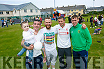 Enjoying  the Shanakill Family Resource Centre  Family Fun Day on Friday winner of the sack race were Lincoln Coffey, Brendan Coffey, Greg Powell, Kevin Quirke, Christopher Hegarty