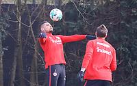Simon Falette (Eintracht Frankfurt) - 06.03.2018: Eintracht Frankfurt Training, Commerzbank Arena