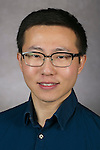 Yuxuan Zhang, Graduate Assistant, College of Computing and Digital Media, DePaul University, is pictured in a studio portrait Thursday, February 23, 2017. (DePaul University/Jeff Carrion)