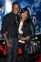 "LOS ANGELES, CA, USA - APRIL 16: Flex Alexander, Shanice at the Los Angeles Premiere Of Open Road Films' ""A Haunted House 2"" held at Regal Cinemas L.A. Live on April 16, 2014 in Los Angeles, California, United States. (Photo by Xavier Collin/Celebrity Monitor)"