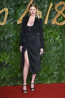 LONDON, UK. December 10, 2018: Lara Stone at The Fashion Awards 2018 at the Royal Albert Hall, London.<br /> Picture: Steve Vas/Featureflash