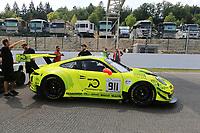 #911 MANTHEY RACING DEU PORSCHE 911 GT3 R PRO CUP ROMAIN DUMAS (FRA) FREDERIC MAKOWIECKI (FRA) DIRK WERNER (DEU)