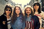 Argent 1973 Russ Ballard, Rod Argent, Jim Rodford, Bob Henrit.© Chris Walter.