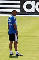 Zidane and some players during Real Madrid´s first training session of 2013-14 seson. July 15, 2013. (ALTERPHOTOS/Victor Blanco) ©NortePhoto
