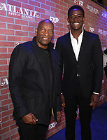 """LOS ANGELES - FEBRUARY 19: John Singleton and Damson Idris arrives at the red carpet event for FX's """"Atlanta Robbin' Season"""" at the Ace Theatre on February 19, 2018 in Los Angeles, California.(Photo by Frank Micelotta/FX/PictureGroup)"""