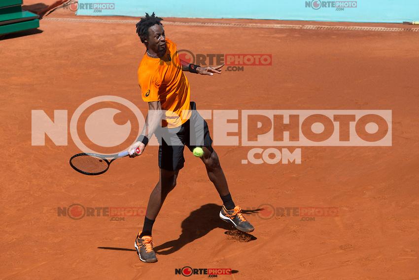 Gael Monfils during  Mutua Madrid Open Tennis 2017 at Caja Magica in Madrid, May 08, 2017. Spain. /NortePhoto.com