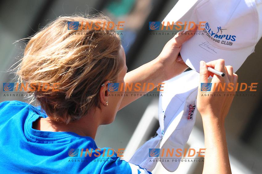 Federica Pellegrini Italy.400m freestyle  women.Roma 14/6/2012 Foro Italico.Nuoto Swimming 49mo trofeo settecolli.Foto Antonietta Baldassarre Insidefoto