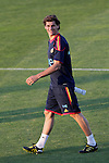 MADRID (24/05/09).- The Spanish Soccer national team has officially begun their hunt for the championship, arriving in the Madrid municipality of Las Rozas to begin preparing for South Africa World Cup.  Fernando Llorente...PHOTO: Cesar Cebolla / ALFAQUI