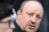 Newcastle United manager Rafa Benítez during Newcastle United vs Arsenal, Premier League Football at St. James' Park on 15th April 2018