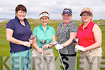 Rose Keane, Kathleen Finnegan, Donna Roche, Marie Mackey at the Mercy Mounthawk Secondary School Golf Classic Fundraiser at Tralee Golf Club on Friday
