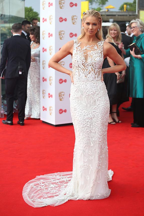 Amanda Clapham<br />  arriving at the Bafta Tv awards 2017. Royal Festival Hall,London  <br /> ©Ash Knotek
