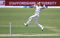 21st November 2019; Mt Maunganui, New Zealand;  Neil Wagner bowling. international test match cricket, Day 1, New Zealand versus England at Bay Oval, Mt Maunganui, New Zealand.
