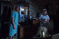 Annabelle: Creation (2017)<br /> Lulu Wilson &amp; Talitha Bateman<br /> *Filmstill - Editorial Use Only*<br /> CAP/KFS<br /> Image supplied by Capital Pictures