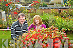 Pictured last Thursday are Frank and Breda Doyle of 23 Woodlawn Road with their fabulous garden.